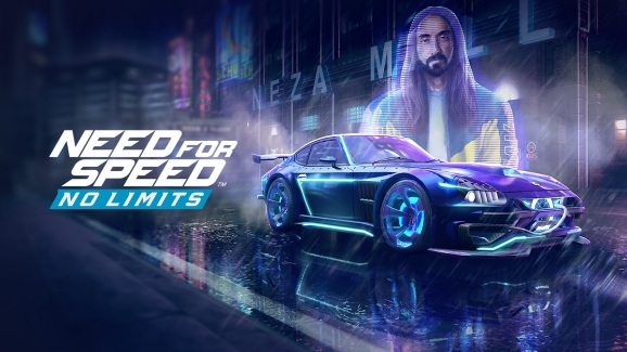Steve Aoki in Need for Speed: No Limits.