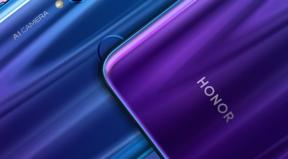 Huawei's Honor 20 Lite: This one has a rear fingerprint-reader.