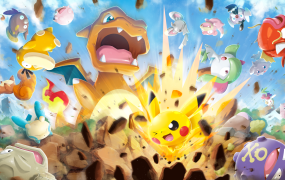 Concept art for Pokémon Rumble Rush.