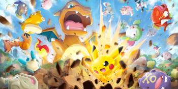Pokémon Rumble Rush is an island-hopping, monster-capturing romp for iOS and Android