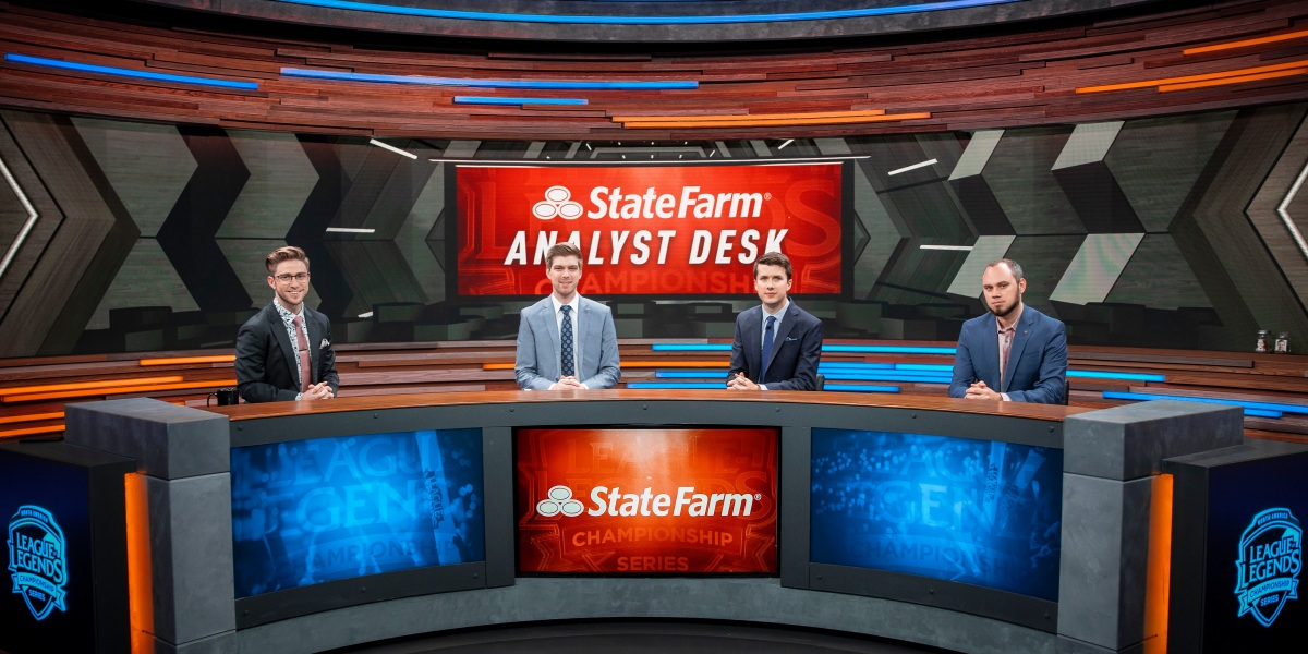 State Farm started sponsoring League of Legends tournaments in 2018.