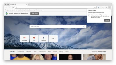 Microsoft's Edge for macOS arrives in preview | VentureBeat