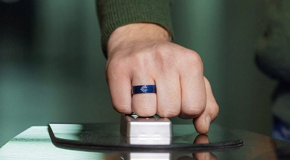 Cnick's currently available NFC smart ring shows the general form factor that future health wearables could take.