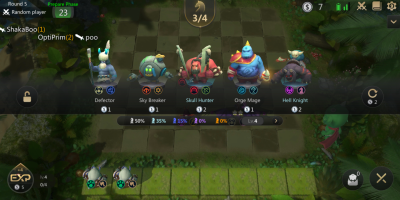 Auto Chess on mobile is improving     but confusing