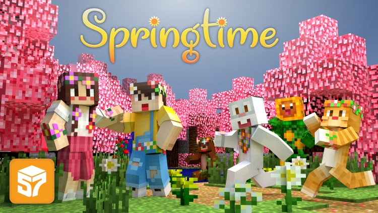 Springtime is in the air and Minecraft Marketplace.