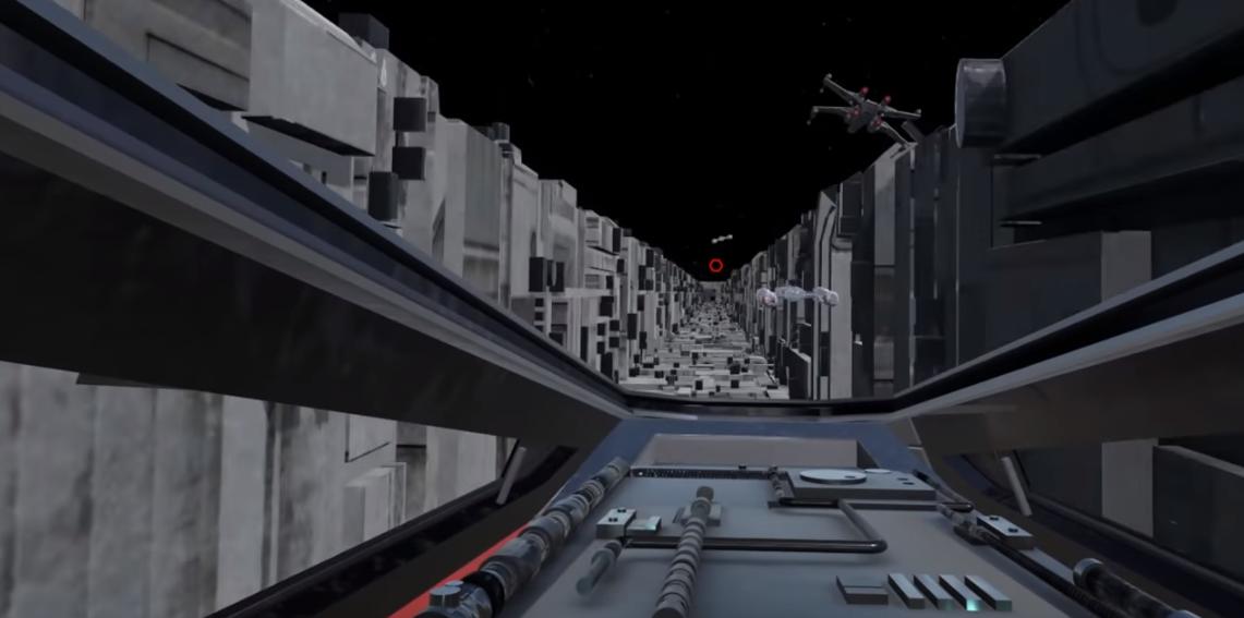 Fan Made Star Wars Vr Death Star Trench Run Also Researches Sim Sickness Venturebeat