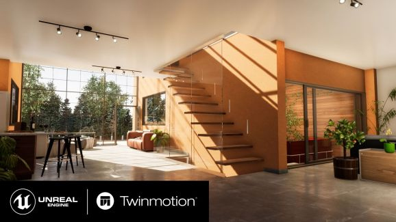 Twinmotion uses Epic's Unreal 4 engine.