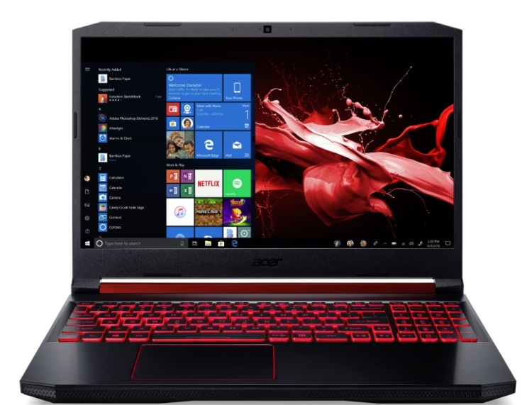 Acer's Nitro 5 laptop uses an AMD Ryzen Mobile processor.