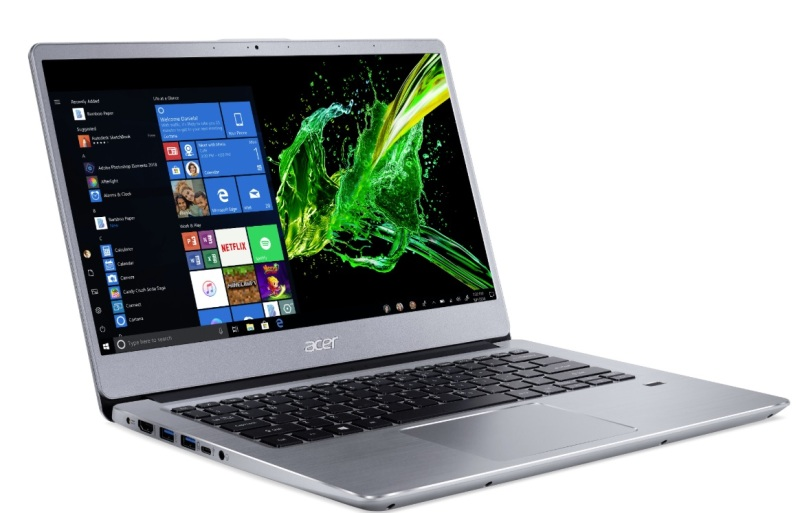 Acer's Swift 3 productivity laptop users an AMD Ryzen Mobile processor.