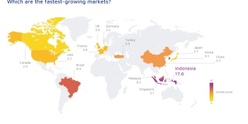 Adjust: Indonesia, Brazil, and South Korea are fastest-growing app markets