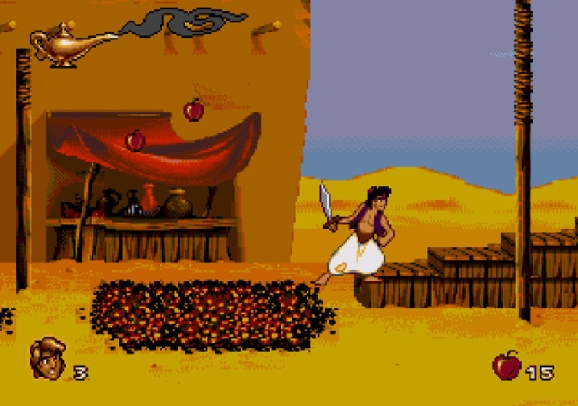 Aladdin for the Sega Genesis