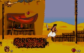 Aladdin for the Sega Genesis