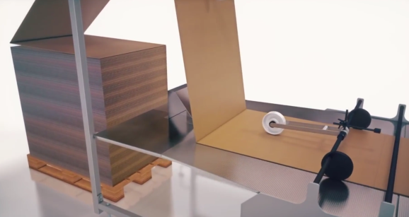 Amazon is using an automated packing machine like this