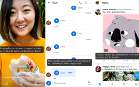 Android Q's Live Caption feature screenshots
