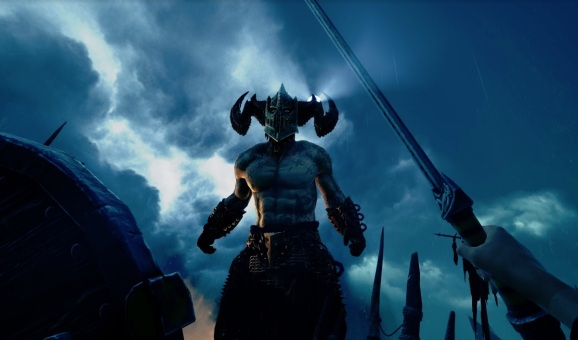 Uh oh. A god battle in Asgard's Wrath.