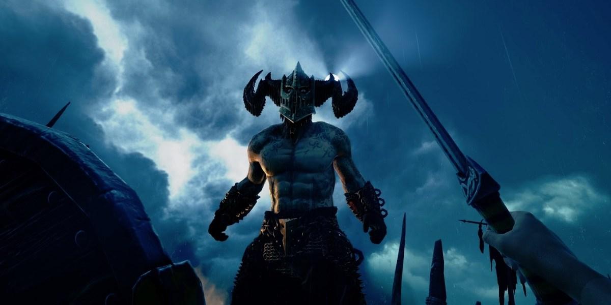Uh oh. A god battle in Asgard's Wrath.