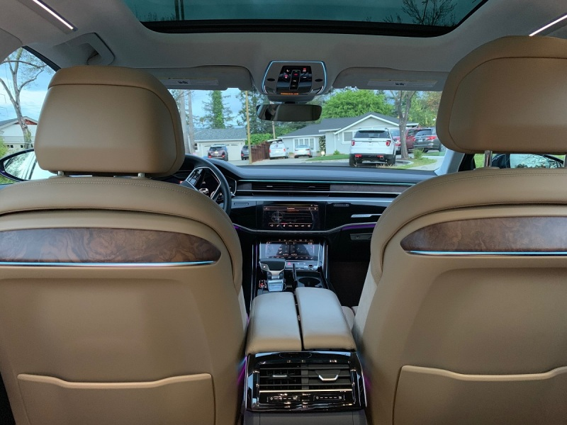 Audi A8 L review -- Fully loaded with luxury tech | VentureBeat