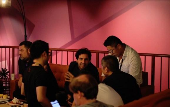 A blockchain conspiracy hatches at GamesBeat Summit 2019.