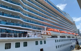 Carnival's Royal Princess cruise ship is outfitted to support Ocean Medallion wearables.