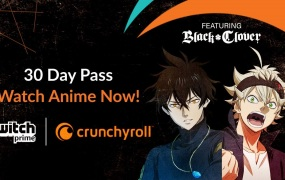 Twitch Prime members get Crunchyroll access.