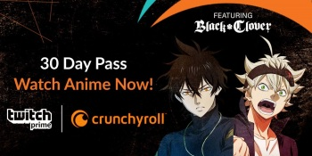 Twitch Prime subscribers get 30 free days of Crunchyroll anime service