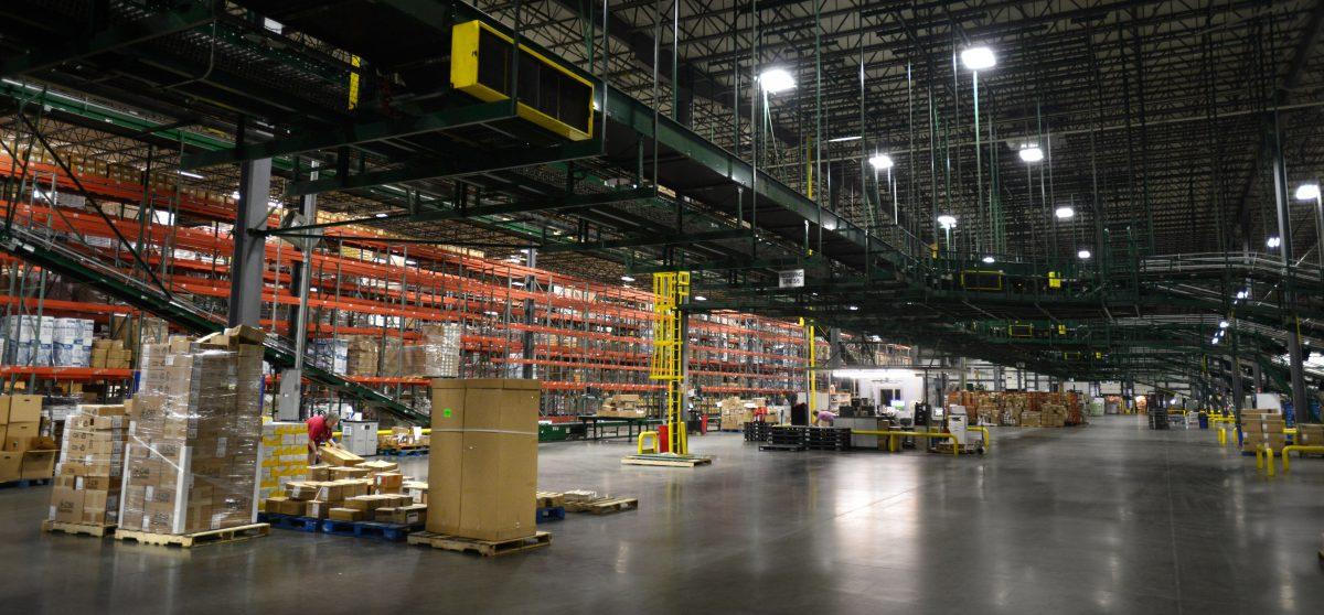 Walmart distribution center