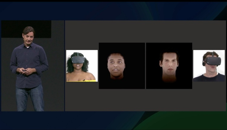 Avatars for VR will get more realistic in the future.