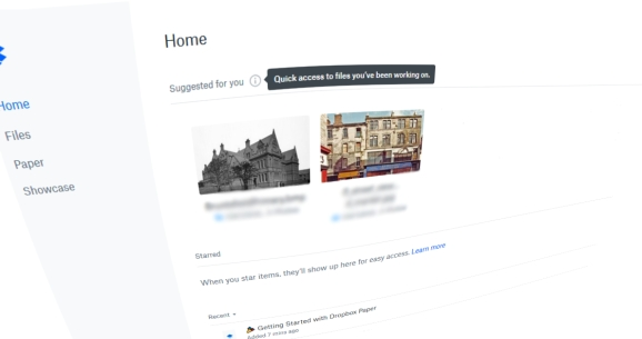 Dropbox: Content suggestions are rolling out now