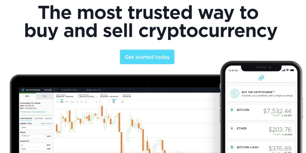 Gemini is a way to buy and sell cryptocurrency.
