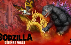 Godzilla Defense Force has launched on mobile.