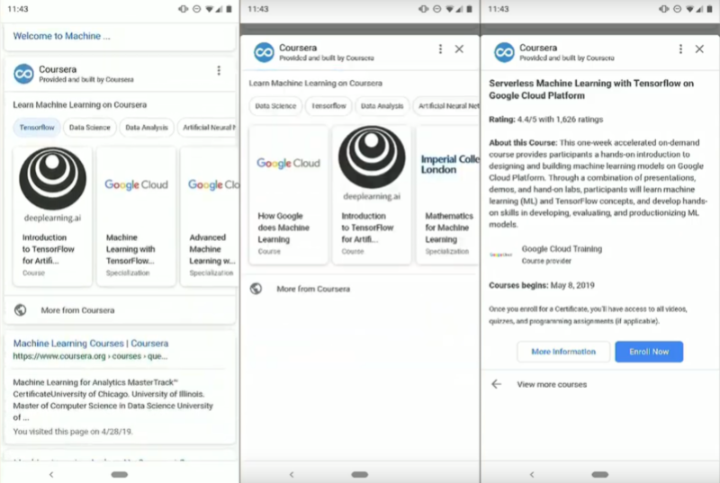 Google is testing Mini-apps in Search and Google Assistant | VentureBeat