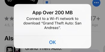 Apple raises iPhone cellular download bar to a still-miserly 200MB