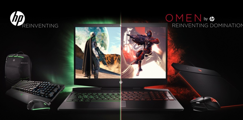 HP debuts dual-screen Omen gaming laptop and accessories
