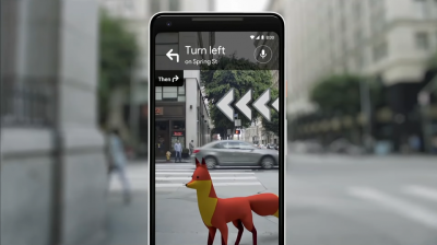Google Maps AR navigation rolls out to Pixel users | VentureBeat on