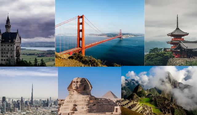 Google landmarks data set