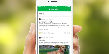 Neighborhood social network Nextdoor raises $123 million at $2.1 billion valuation
