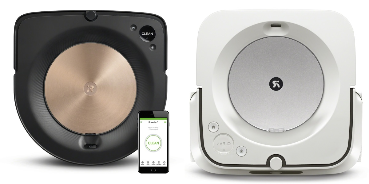 iRobot unveils Roomba s9+ and Braava jet m6 robots that clean together