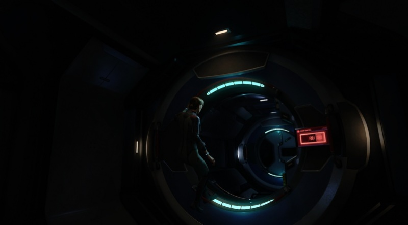 You have to figure out how to get past barriers in Lone Echo II.
