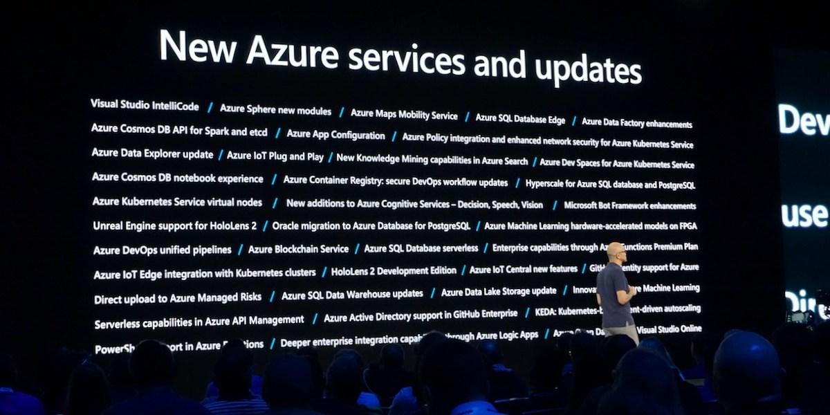 Satya Nadella Microsoft Build 2019 keynote Azure
