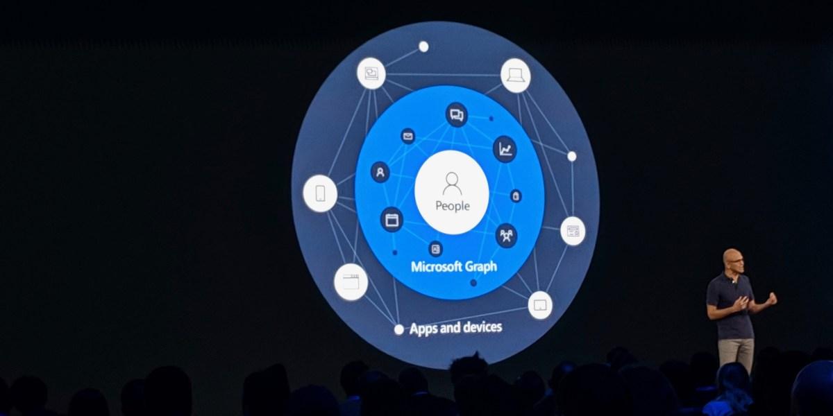 microsoft graph satya nadella microsoft build 2019 keynote