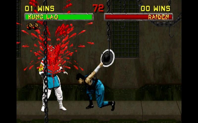 The original Mortal Kombat