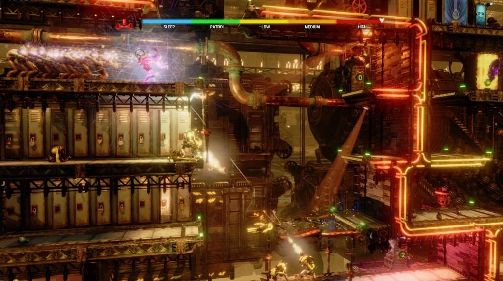 Oddworld: Soulstorm has beautiful graphics.