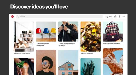 Pinterest Windows 10 app