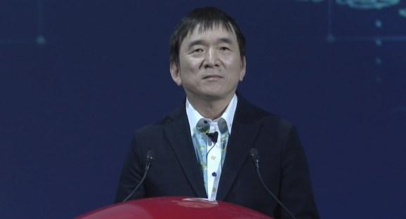 Tsunekazu Ishihara, CEO of Pokemon Company International.