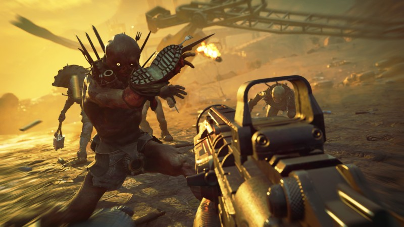 Guns are great in Rage 2.