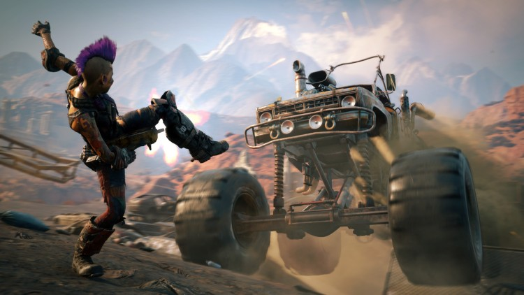 The cars are a lot of fun in Rage 2.