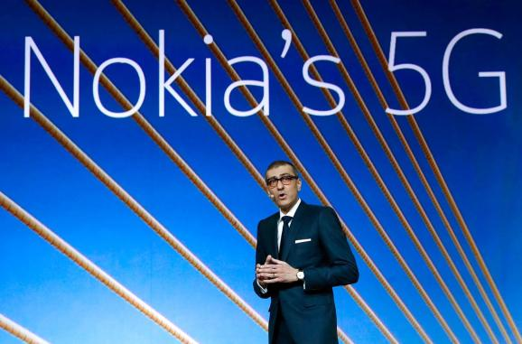 Nokia CEO sees possible long-term benefits from Huawei clampdown