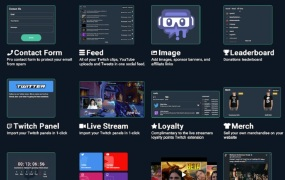 Creator Sites lets streamers build a web site easily.