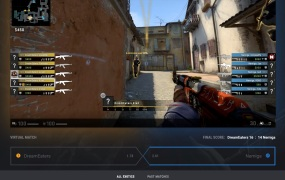Virtual betting lets you wager on rounds of CS: GO.