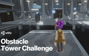 Unity has another Obstacle Tower Challenge.